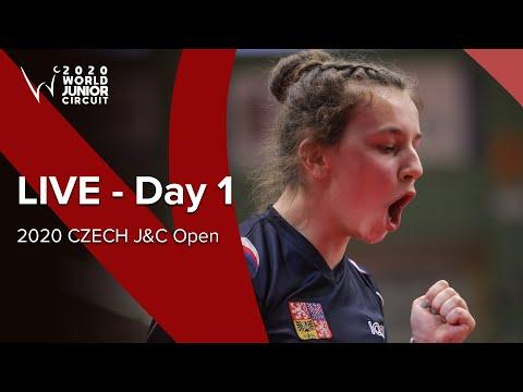 Day 1 - ITTF 2020 Czech J&C Open