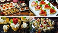 Słodkie serduszka - Walentynki na słodko z ciasta francuskiego