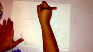 How to draw an earth day poster
