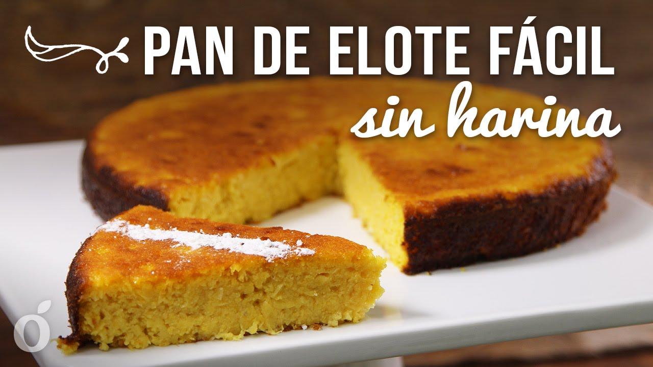 ingredientes para hacer pastel de elote