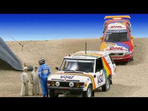 diorama 14 Rallye Paris Dakar 1981