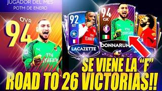 ROAD TO 26 VICTORIAS SE VIENE LA F? - NUEVO POTM, PASE ESTELAR y TOTW - FIFA 20 MOBILE