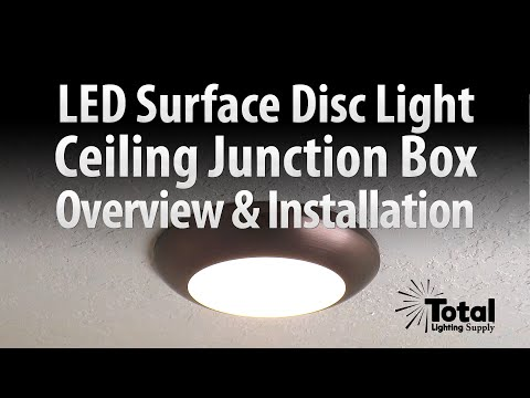Sylvania Ultra LED Disc Light for Ceiling Lighting Overview & Install - Total Recessed Lighting