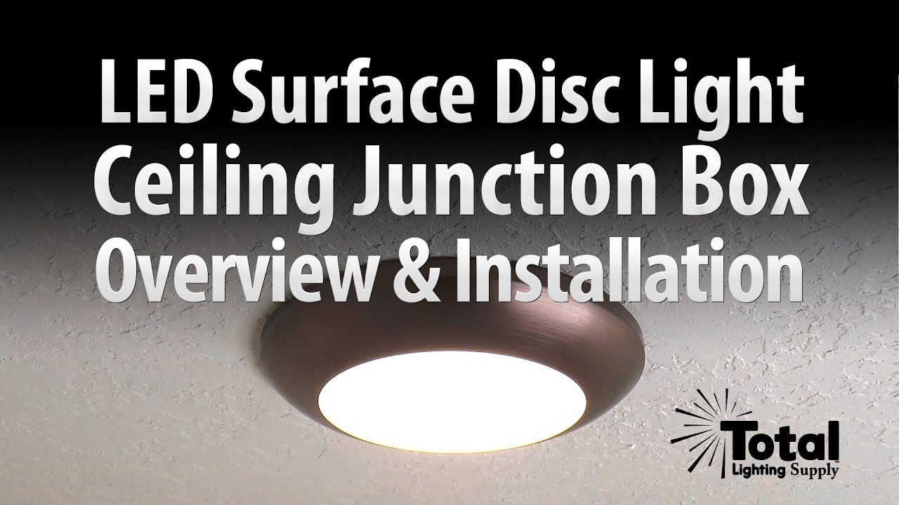 Sylvania Ultra LED Disc Light for Ceiling Lighting Overview u0026 Install - Total Recessed Lighting - YouTube & Sylvania Ultra LED Disc Light for Ceiling Lighting Overview ... azcodes.com