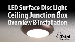 sylvania ultra led disc light for ceiling lighting overview install total recessed lighting
