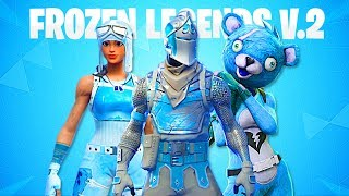 FROZEN LEGENDS 2 BUNDLE LEAKED! FORTNITE FROZEN SKIN PACK 2! (FROZEN RENEGADE RAIDER & BLACK KNIGHT)