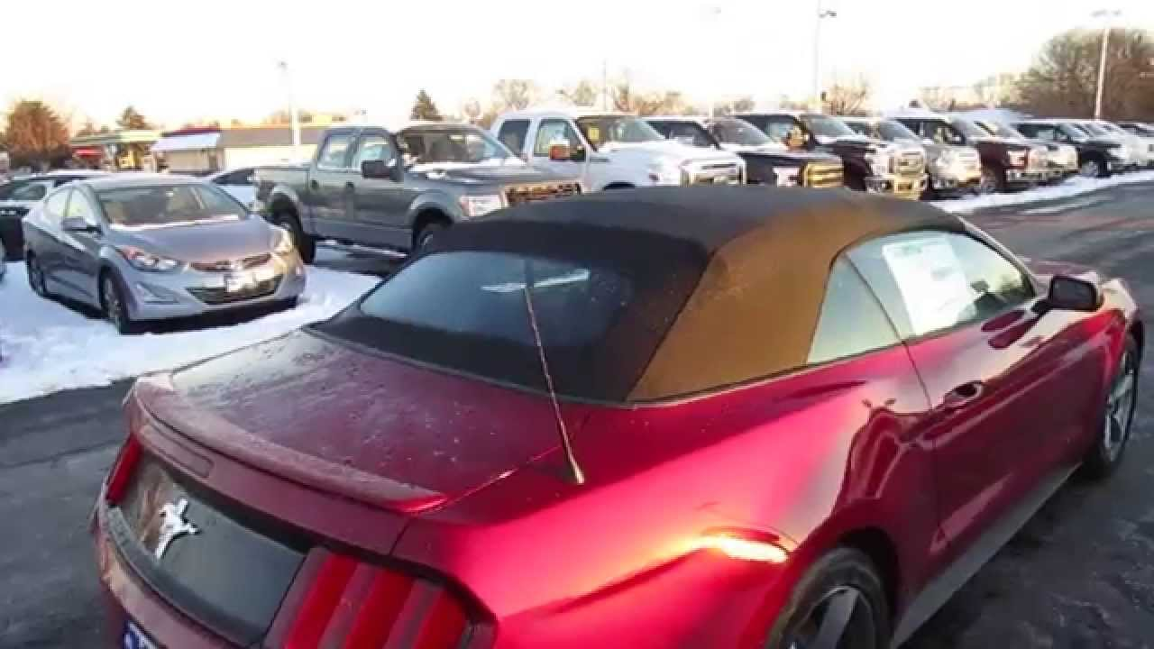 2015 ford mustang convertible - v6 - walk around / review / start
