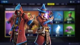 Castor And Elmira Skins [Arcane Arts Gear] | Fortnite Item Shop ✨✨✨