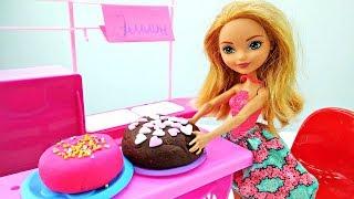 Эшлин Элла открывает кондитерскую Новые мультики с куклами