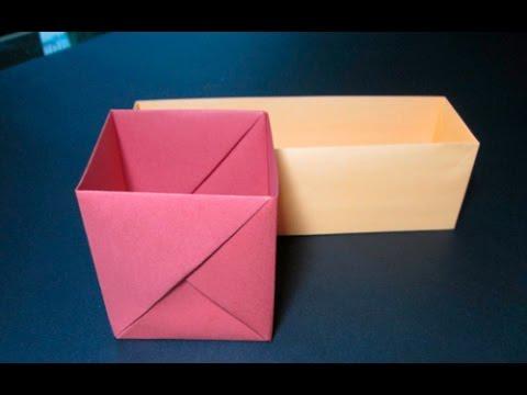 Origami Caixas Youtube