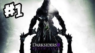 Darksiders 2 Gameplay Walkthrough - Part 1 - DEATH CALLS YOU!! (Xbox 360/PS3/PC Gameplay)
