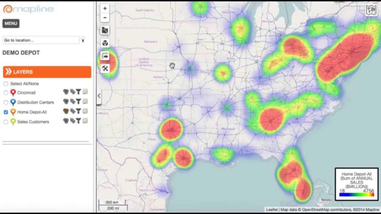 How to Build a Radar Style Heat Map from Excel Data - YouTube