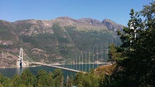Voss - Hardangerbrua - Eidfjord - Måbødalen - Vøringfossen - Hardangervidden. Summer 2015