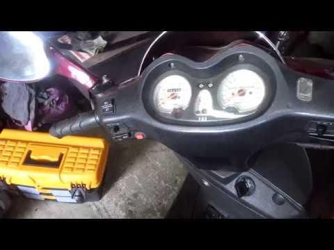 Как проверить вакуумный кран на скутере