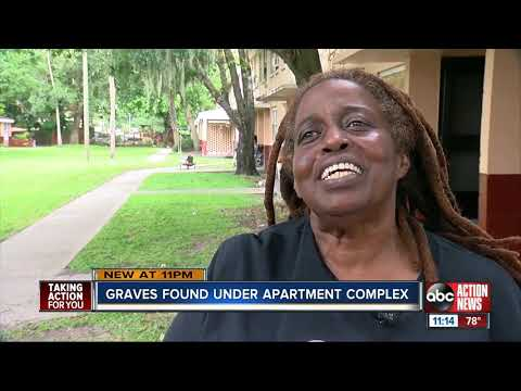 Residents forced to move after 120 possible coffins discovered under apartment complex