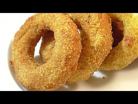 ЛУКОВЫЕ КОЛЬЦА С СЫРОМ.  РЕЦЕПТ. onion rings.