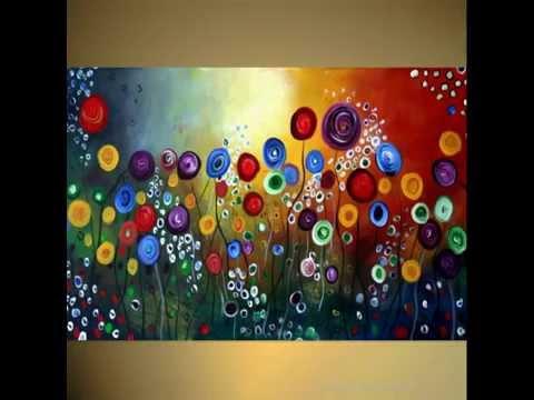 Contemporary Abstract ART, Original Modern Paintings Video- ARTbyLuizaVizoli.com