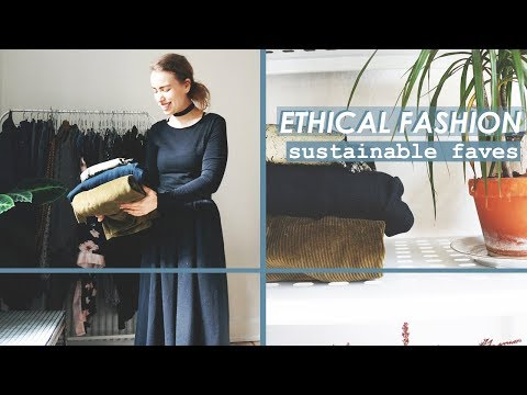MY FAVOURITE SUSTAINABLE FASHION BRANDS