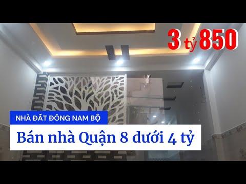 Chính chủ Bán nhà hẻm 3189 Phạm Thế Hiển phường 7 Quận 8 dưới 4 tỷ. Dt 4x14m