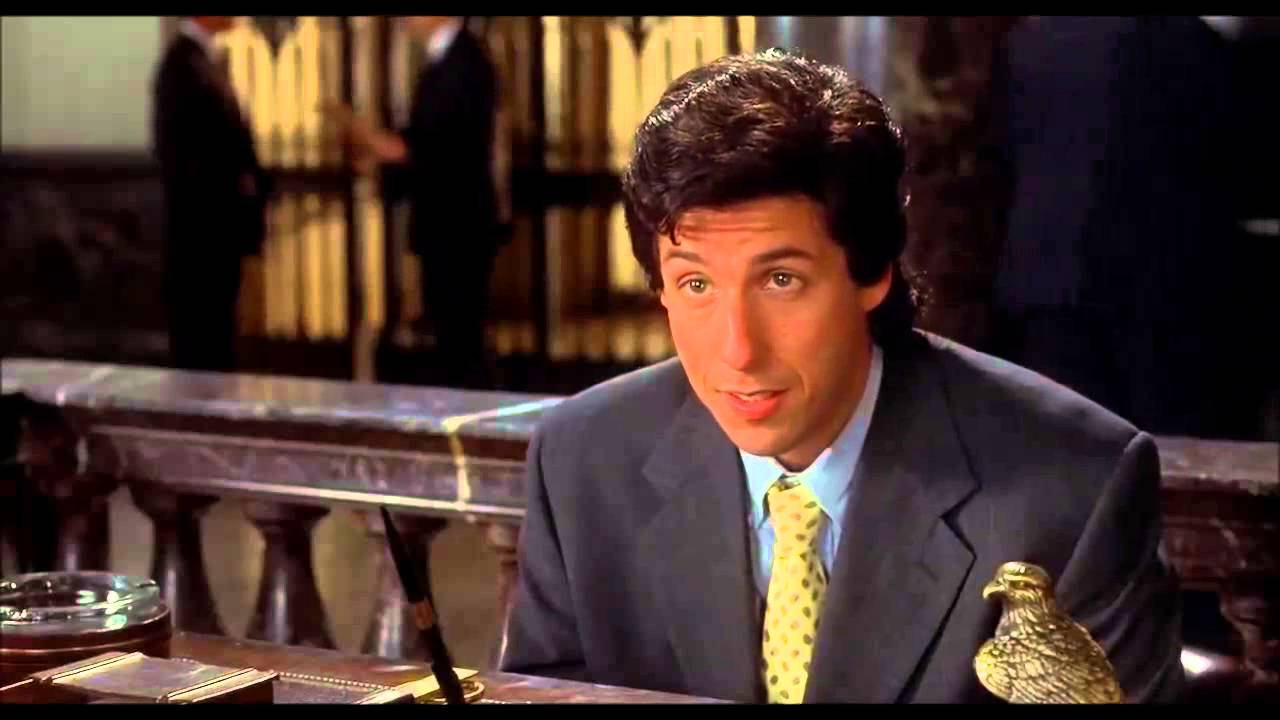 The Wedding Singer 1998 Job Interview