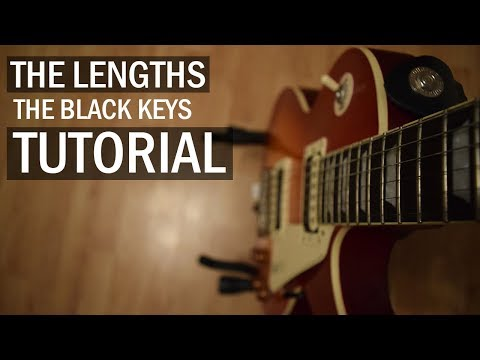 The Lengths - The Black Keys // Guitar Tutorial (Intro Picking + Chords)