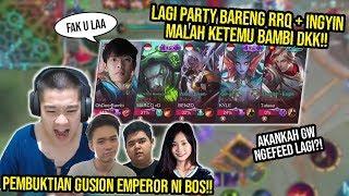 Ketemu BAMBI n Friends, Ajang Pembuktian Kalo GUSION Gw Masih Patut DITAKUTI!! - Mobile Legends