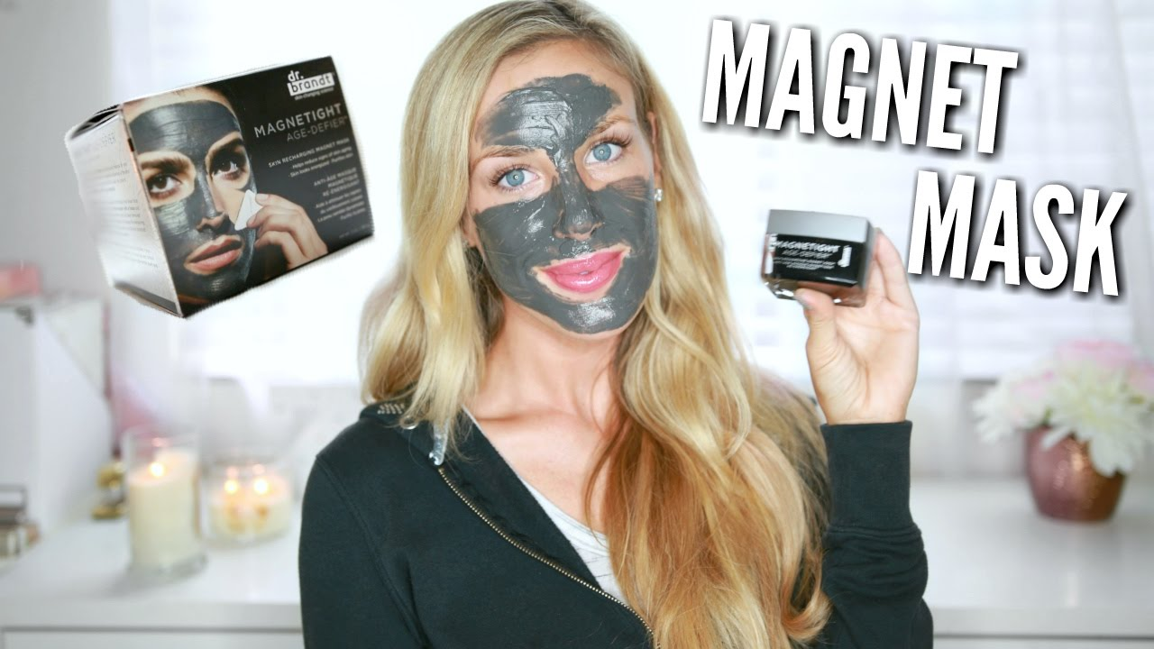 $75 MAGNET MASK? | Dr. Brandt Magnetight Mask Demo ...