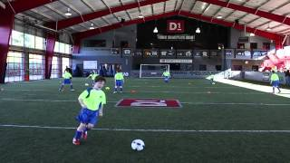 Soccer Drills - How to Teach Aggressive Receiving