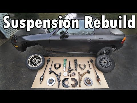 How to Rebuild the Entire Front Suspension in your Car or Truck