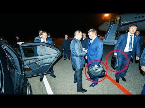 Что носит в чемоданчиках охрана президента страны