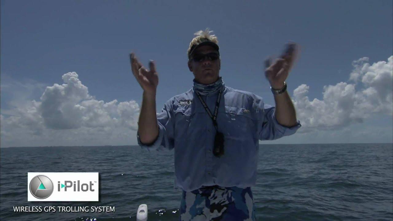 Minn kota i pilot offshore trolling motor spot lock for Spot lock trolling motors