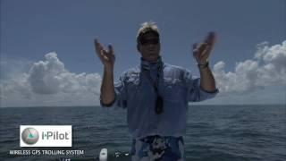 Minn Kota I-Pilot Offshore Trolling Motor Spot Lock Feature