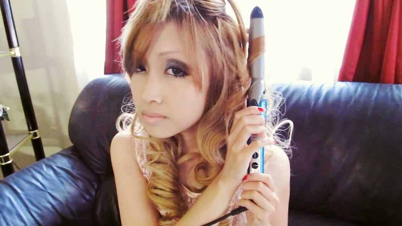 Sexy Japanese Gyaru Hair With Clip On Extensions Youtube