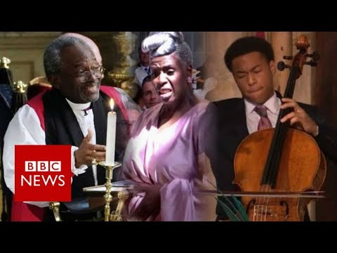 Black culture at the royal wedding - BBC News