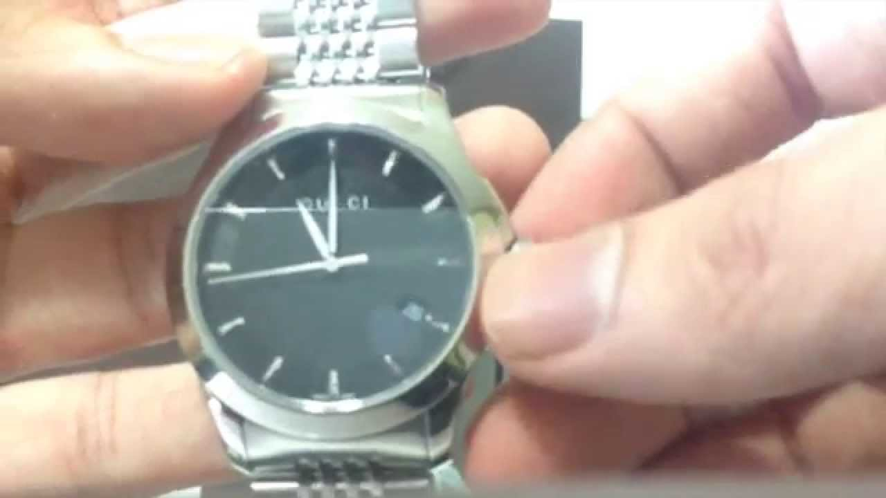 5b5138cd618 Gucci Mens G-Timeless Watch Unboxing and Review - YouTube