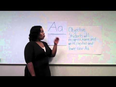 TFA Sample Lesson Plan