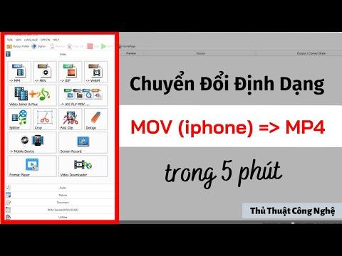 Chuyển Đổi Định Dạng Video File MOV Sang MP4 (2020) I Thủ Thuật Công Nghệ