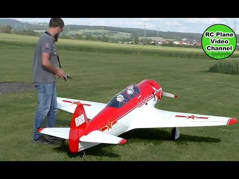 Jakowlew Jak-11 / Yak-11 - Airworld Modellbau - 2800mm - Moki 250 with  E-Starter - MBC Weiden - Tim