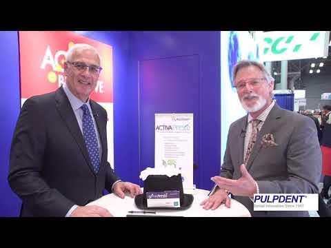 Pulpdent Launches ACTIVA Presto in United States