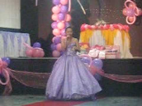Stephanie's 18th Birthday Debutante's thank you speech | Doovi