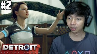Robot Pembantu Cantik Detroit Become Human Indonesia Part 2