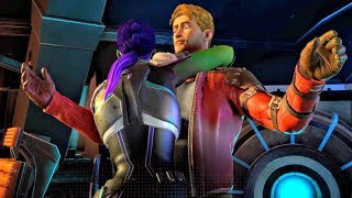 Download Video Is It a Dagger? Gamora Hugs Peter Quill (Guardians of the Galaxy | Telltale Games) MP3 3GP MP4