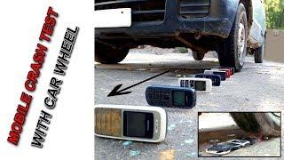MOBILE, PHONE CRASH TEST CAR WHEEL