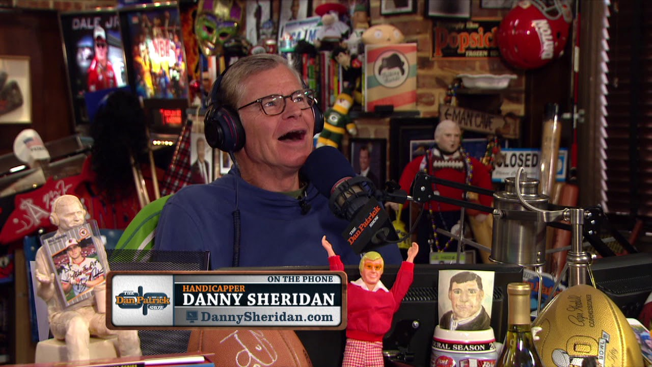 USA Today Sports Handicapper Danny Sheridan on The Dan Patrick Show | Full  Interview | 8/21/17
