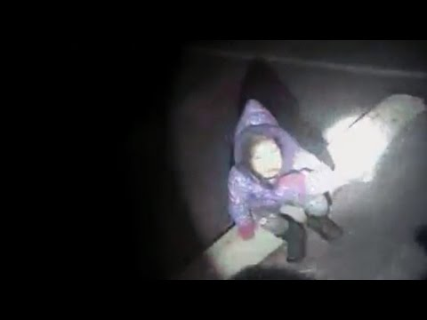 Watch The Moment a Cop Finds an Abducted 3YearOld Girl in a Parking Lot