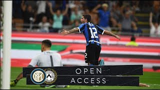 OPEN ACCESS | INTER 1-0 UDINESE | THIRD WIN IN A ROW! 📹⚫🔵