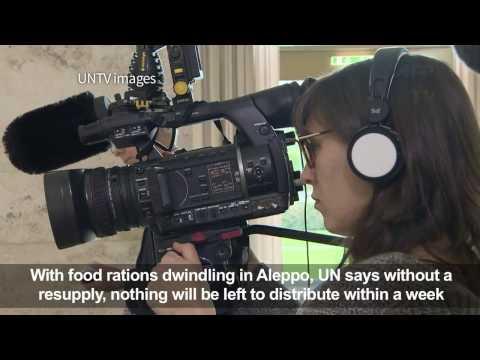 UN Aid To Aleppo...
