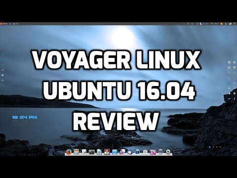 Voyager Linux Based on Ubuntu LTS 16.04