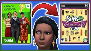 Should Stuff Packs JUST be STUFF like The Sims 2?