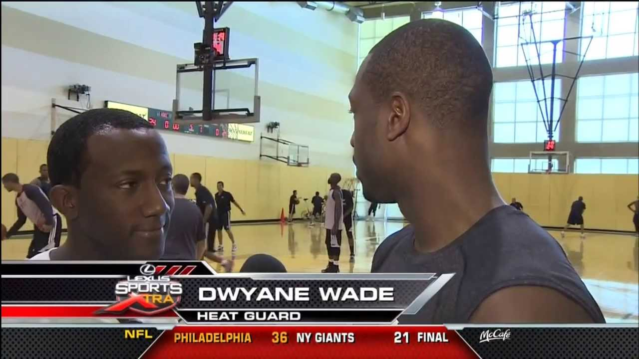 October 06, 2013 - Sports Xtra - Miami Heat Red Vs. White Scrimmage Game (WPLG 10)(WSVN 7)